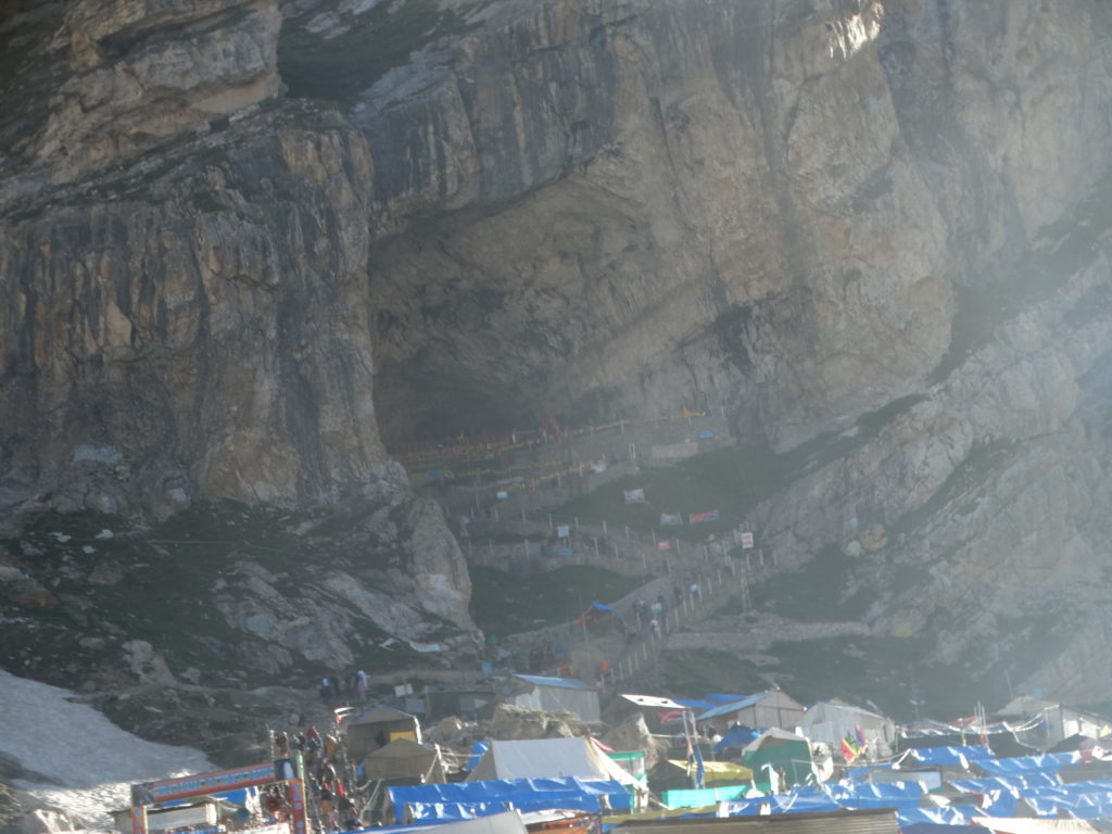 The Holy Cave of Lord Amarnath